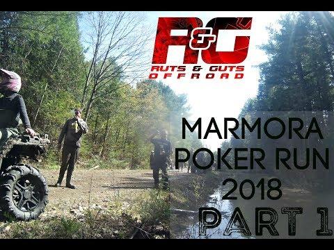 MARMORA POKER RUN 2018 - PART 1