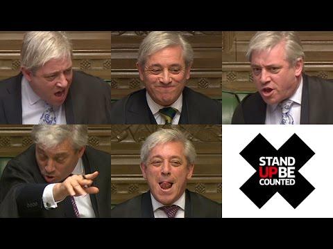 Order! Order! Speaker Calms Down Westminster's Rowdiest Moments