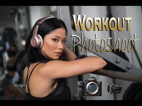 Epic Workout and Action Photoshoot w/ A7RII + 55mm 1.8 BTS Gym Time thumbnail
