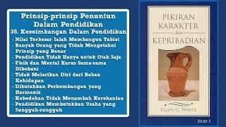 PIKIRAN, KARAKTER DAN KEPRIBADIAN: 38. Keseimbangan Dalam Pendidikan bag.2 - Pdt. Benny Tambunan
