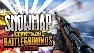 PUBG Mobile : Snow Map official beta gameplay😍| Playing in mobile🔥