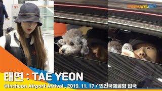 Girls'Generation 'TAEYEON' 태연, 반려견 '제로'와 여행 다녀왔어요 [NewsenTV]