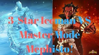 Hey guys so today were going up agaisnt master mode mephisto with m...