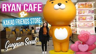 Ryan Cafe  dan Kakao Friends Store di Gangnam Seoul