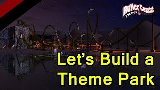 rct 3 lets build a theme park ep 2 rollercoastaaa