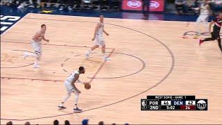 2nd Quarter, One Box Video: Denver Nuggets vs. Portland Trail Blazers