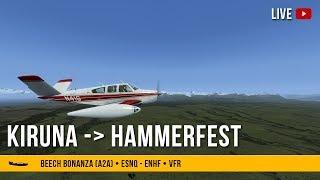 #52 | Kiruna - Hammerfest (ESNQ-ENHF) - Bonanza A2A