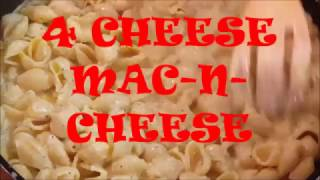 FOUR CHEESE MAC-N -CHEESE, RICHARD IN THE KITCHEN