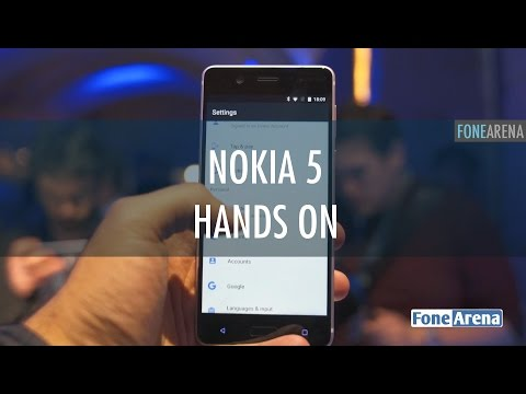 Nokia 5 Hands On