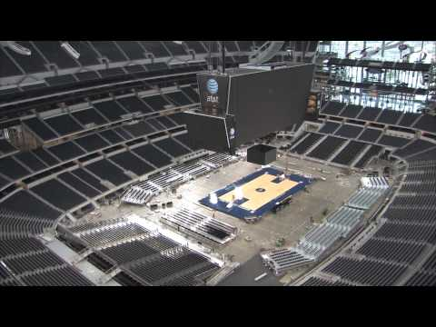 Cowboys Stadium - Conversion Timelapse