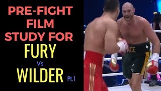Tyson Fury vs Deontay Wilder Pre Fight Film Study for the Gypsy King