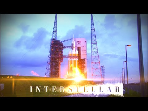 NASA's Orion Space Launch set to Interstellar Soundtrack