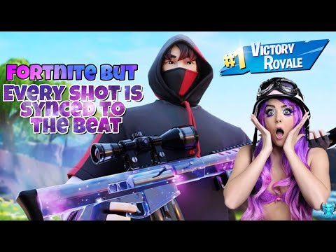 Fortnite But every shot is synced to the Beat - Roddy Ricch the Box -