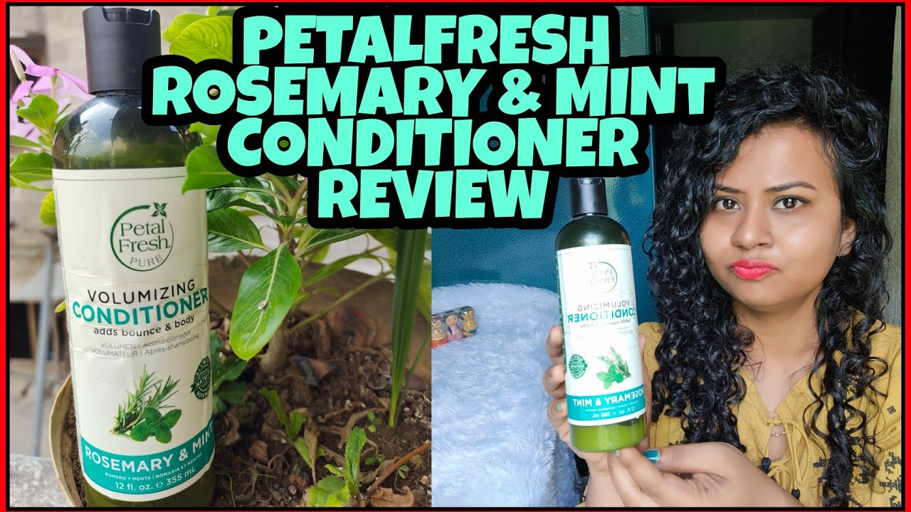 PETAL FRESH PURE ROSEMARY & MINT VOLUMIZING CONDITIONER HONEST REVIEW IN HINDI