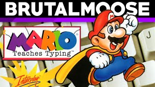 Mario Teaches Typing - brutalmoose