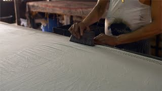 Block Printing - Handmade block printing in the textile industry