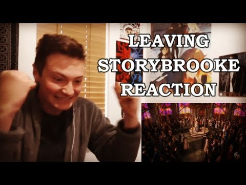 ONCE UPON A TIME  7X22 LEAVING STORYBROOKE REACTION