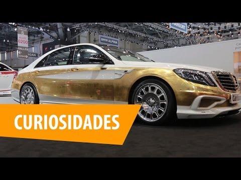 Carro de ouro ou que dirige sozinho: as curiosidades do Salão de Genebra