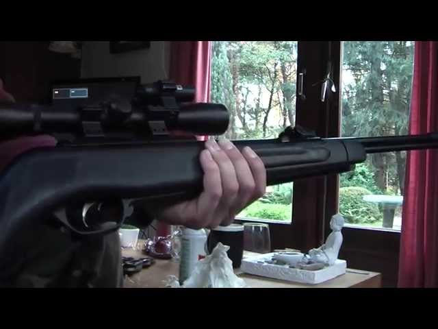 Gamo CFX: cleaning the barrel and maintenance