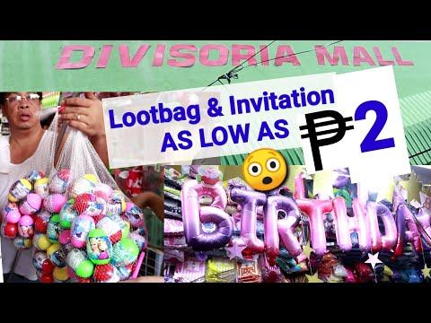 Pinakamurang Bilihan ng Party Supplies | Hidden Stores in Divisoria