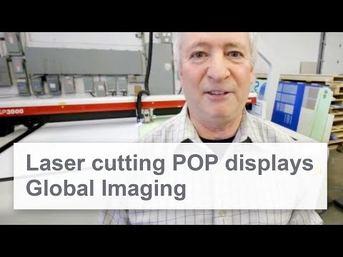 Global Imaging | Laser Cutting POP Displays | SP 3000