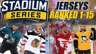 Stadium Series Jerseys Ranked 1-15
