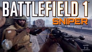 Battlefield 1: Sniper in The Mist - Giant's Shadow Conquest (PS4 PRO Multiplayer Gameplay)