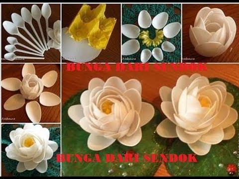 lagi-viral-cara-paling-mudah-membuat-bunga-teratai-dari-sendok-makan