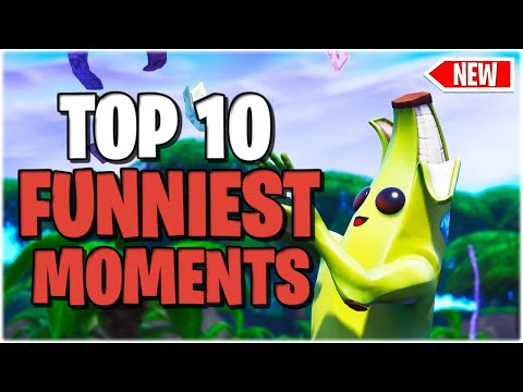 Fortnite Top 10 Funny Moments Try Not To Laugh – Fortnite Funny Fails & Wtf Moments #1