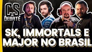 CS em Debate #1 c/ FalleN - SK, Immortals e Major no Brasil