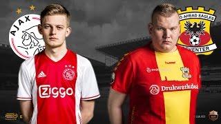 Dani Hagebeuk - Ian ter Schuur | Ajax - Go Ahead Eagles | Speelronde 33 | E-Divisie