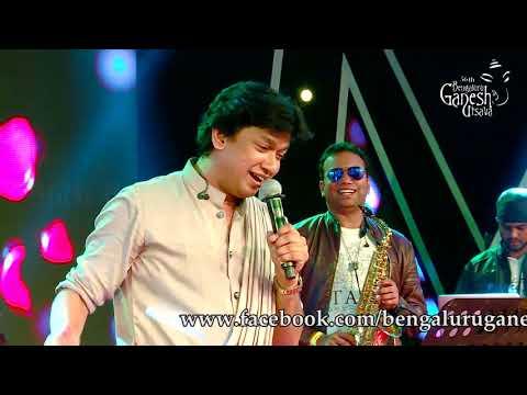 """Vijay Prakash Singing """"Yaare Neenu Roja Hoove""""   At 56th Bengaluru Ganesh Utsava, 2018"""