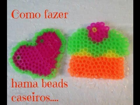 Como fazer hama beads caseiros  .....