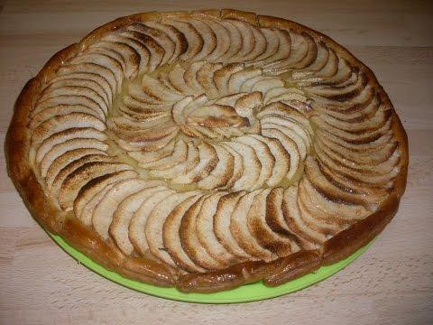 comment-faire-une-tarte-fine-aux-pommes---recette-tarte-aux-pommes-facile