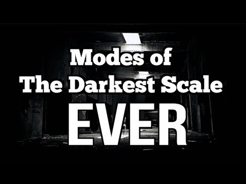 Modes of the Darkest Scale Ever