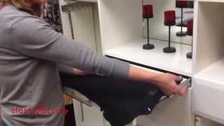 The Fastest Way to Fold Shirts! Seriously FAST! Thumbnail