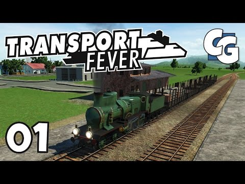Transport Fever - Ep. 1 - Train Basics (Passing Loops, Signals, etc.) - Transport Fever Gameplay