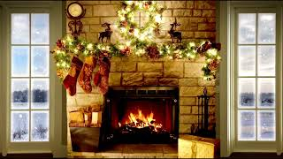 Christmas Piano Relaxing Fireplace - 3 Hours