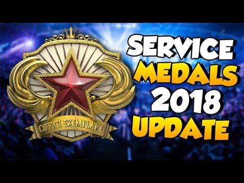 CS:GO Update: Service Medals 2018 Update & Countdown Timer