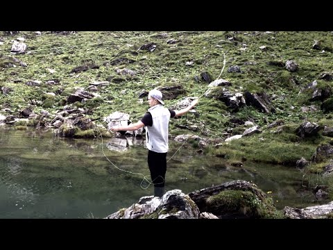 Flyfishing Switzerland for trout - 2014