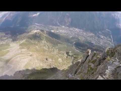 Crazy Wingsuit Flight - The Great Dario -  Graham Dickinson & Dario Zanon
