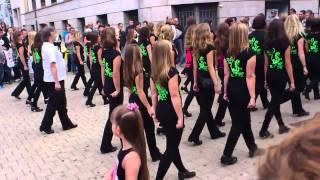 Flashmob im Steppen