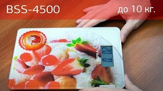 Кухонные весы SUPRA BSS-4500. Распаковка. Мини-обзор.