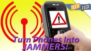 Cell Phone Hack Jams Calls and Texts!