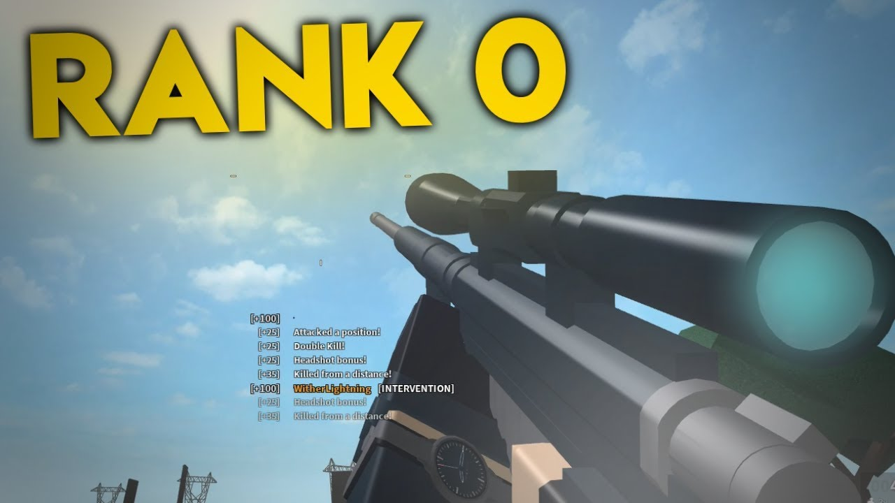 RANK 0 CHALLENGE IN PHANTOM FORCES... (roblox)