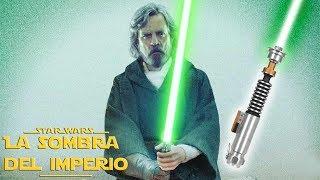 ¿Qué Pasó con el Sable Verde de Luke Skywalker Tras su Muerte? – Star Wars Canon –