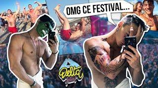 DELTA FESTIVAL : CE QU'IL S'EST VRAIMENT PASSÉ (oui c'est des tattoos) !! 😂😱