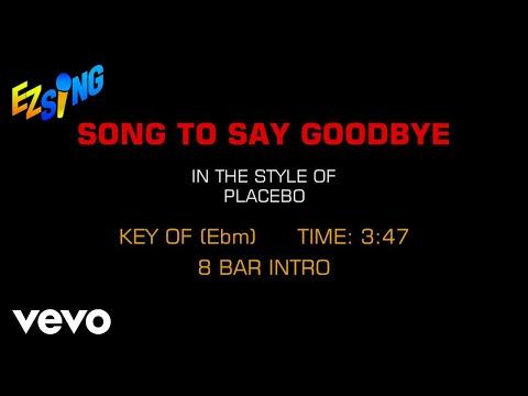 Placebo - Song To Say Goodbye (Karaoke)