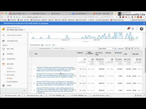 Beyond Etsy Stats: Searching and Viewing Historic Keyword Data Using Google Analytics