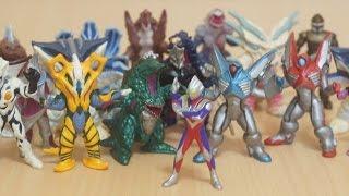 ウルトラマンティガ ティガモンスター 超全集 レビュー  Ultraman Tiga Monster Complete Figure